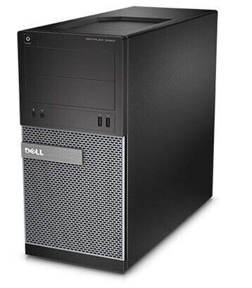 Dell, Dell Optiplex 3020 3,3GHz 500GB 8GB Sort, Ghz Dell