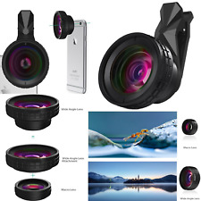 huge selection of a1a7b aa403 AUKEY Ora iPhone Lens 140 Wide Angle 10x Macro Clip-on Cell Phone Camera