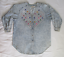 Vintage-3X-Monique-Fashions-Acid-Wash-Denim-Top-with-Baubles-and-Rhinestones thumbnail 2