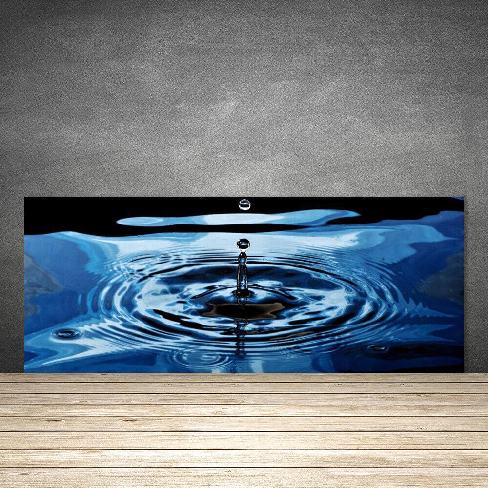 Crédence de cuisine en verre Panneau 125x50 Art Eau