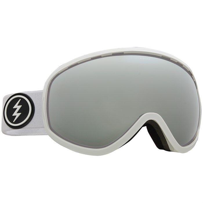 Electric Visual Mesher Bianco + Lucido + Bianco Bl Mascherina Snowboard Brose c1217d