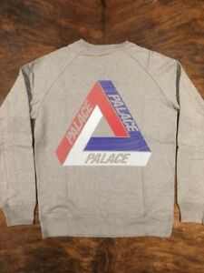 7b84395631aa Palace Skateboards Tri Ferg Tri Line Brit Crew Large New With ...