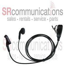 Earbud Headset W/PTT Motorola XPR6500 XPR6350 XPR6550 XPR7550 XPR6300 XPR6580