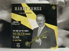 "HARRY JAMES THE HIGH AND THE MIGHTY EP 7"" VG+/EX+ PHILIPS MINIGROOVE 429 035 BE"