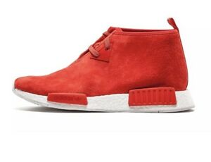 check out 04874 adb1d Details about NEW Adidas NMD C1 Chukka Lush Red S79147 Size 11 Suede limited