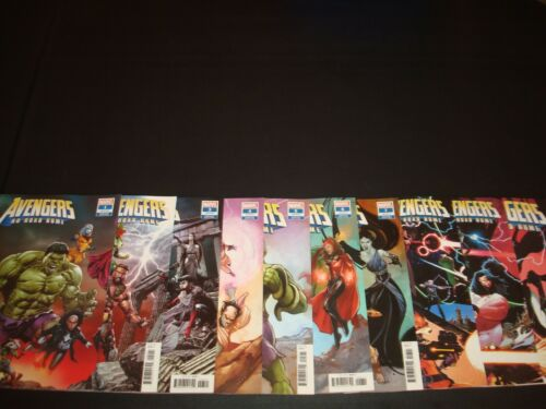 Avengers No Road Home 1-10 Complete Connecting Variant Set Marvel 1st Conan
