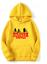 Felpa-sweatshirt-Hoodie-unisex-Stranger-Things-more-colour-netflix miniatura 3