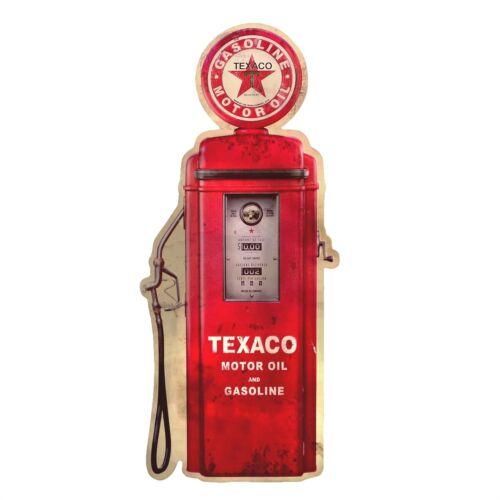 Metal Vintage Texaco Gas Station Gasoline Pump Tin Sign Garage//Shop Wall Decor