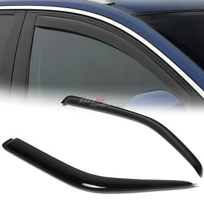 Smoke Tinted Side Window Wind//Rain Vent Deflectors Visor for Dodge Sprinter 2500