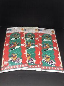 3-Vintage-1983-Sealed-Winnie-the-Pooh-Tigger-Disney-Christmas-Card-Holder-43