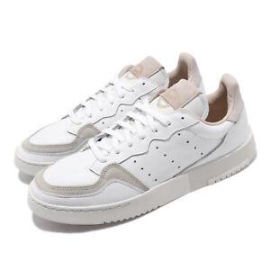 adidas-Originals-Supercourt-Crystal-White-Grey-Men-Women-Unisex-Shoes-EE6034