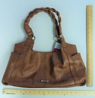 Cute Relic Brown Tan Hand Bag Purse Tote Shoulder Handbag