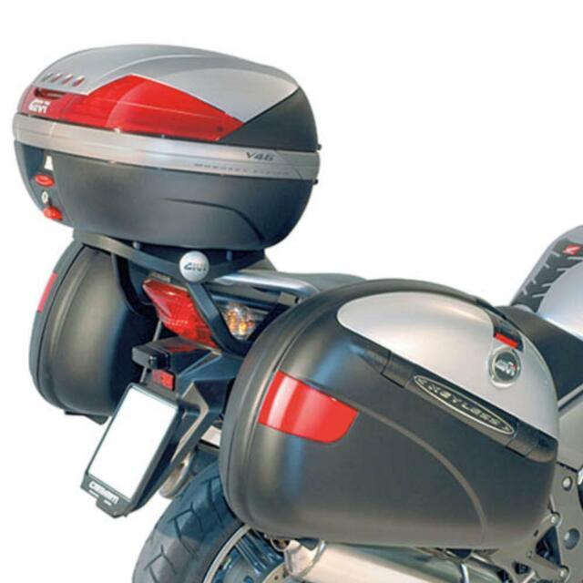 Side Cases for Honda CBF1000 06-09 Givi Monokey V35N black 35 liter