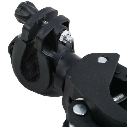 Details about  /Rotation Torch Car Clip Lights Holder Handlebar Plastic  Headlight Holder DMF