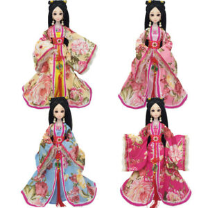 Ancient-Costume-Clothes-For-Barbie-Dolls-Dress-1-6-Doll-Outfits-COSPLAY-Kids-Toy