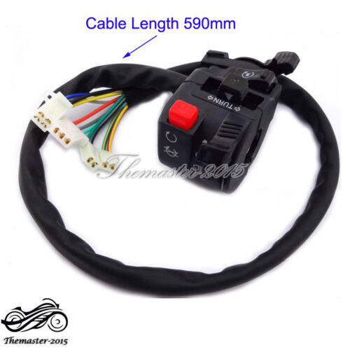 4 Function Handle Switch Control With Choke Lever 50 110 125 150 200 250cc ATV