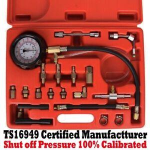 New-Car-0-140-PSI-Fuel-Injection-Pump-Injector-Tester-Test-Pressure-Gauge-US