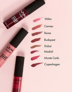 Brand New Sealed Nyx Soft Matte Metallic Lip Cream Choose Color