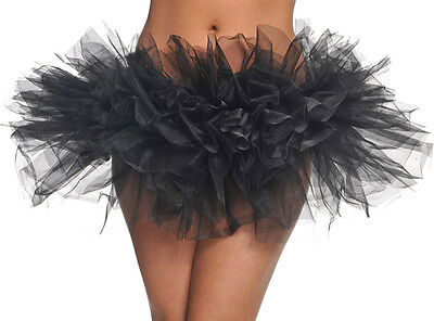 Morris Costumes Women's New Bright Colored Tulle Tutu Black One Size. UR29353
