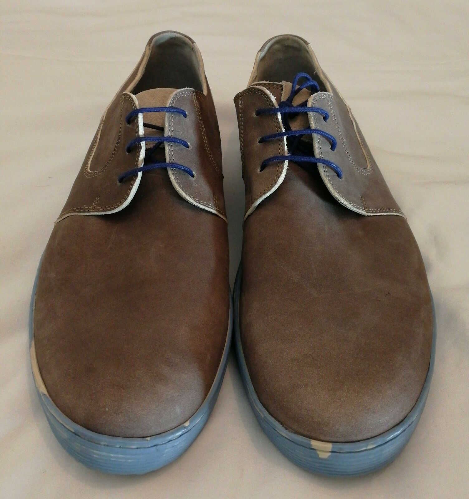 Zapatillas de cuero Floris Van Bommel Piedra Talla