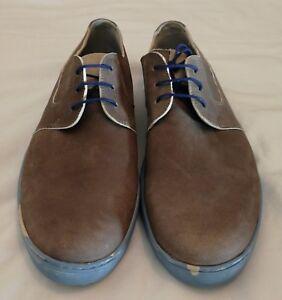 Floris-Van-Bommel-Leather-Sneakers-Stone-Size-uk-8-eu-42