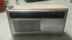 Radio 7 Transistor tr 729 Sony  Vintage Japan