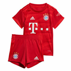 new product 427b8 a4c43 Details about adidas Official Kids FC Bayern Munich Home Baby Football Kit  2019-20