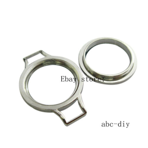 1pcs chrome plain threaded screw top floating  locket fit floating charms