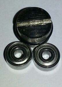 229 /& 235 Stainless Steel Ball Bearing Cup w//Hybrid Ball Bearing Newell 220