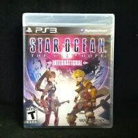 Star Ocean: The Last Hope International (sony Playstation 3, 2010) Brand