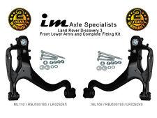 Land Rover Discovery 3 Komplett Unten Vorne Arm-set + Montage Satz (querlenker)