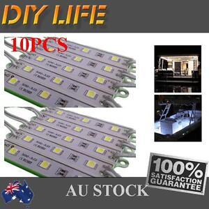 12V-LED-waterproof-Strip-Module-Light-Cool-white-Garden-Camping-Boat-Bar-Caravan