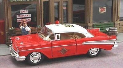 New 1/40 Scale  1957 Chevrolet Bel-Air Fire Chief's Car
