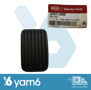 GENUINE NEW HYUNDAI CLUTCH / BRAKE RUBBER PAD X1 - FIT VARIOUS MODELS 3282524000