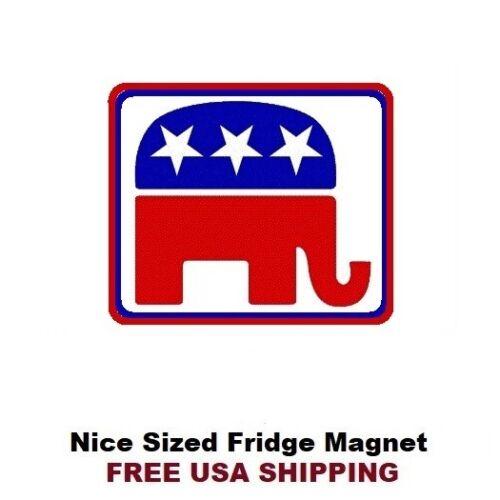 196 Republican Elephant Politics Refrigerator Fridge Magnet