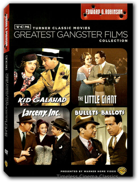 Kid Galahad, Larceny, Inc.,The Little Giant, Bullets or Ballots DVD New