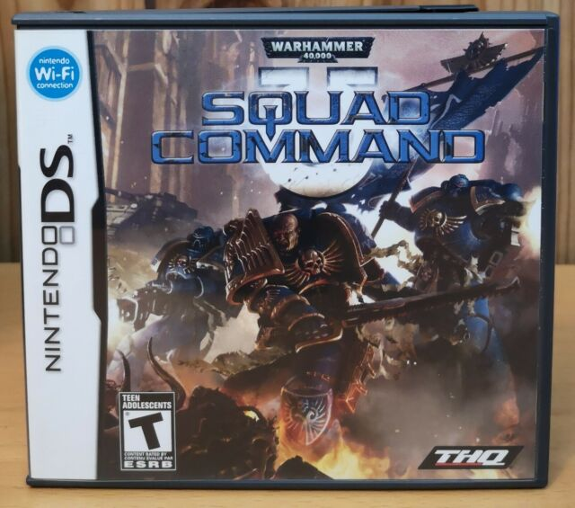 Warhammer 40,000: Squad Command  (Nintendo DS, 2007, THQ) T