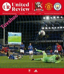Manchester United v Manchester City CARABAO CUP SEMI-FINAL 6/1/21 IMMEDIATE POST