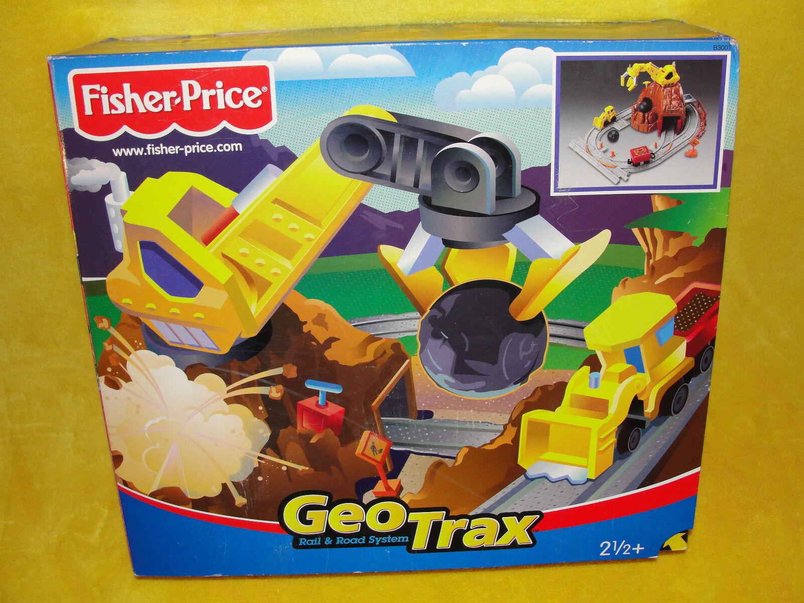 FISHER PRICE GEOTRAX   BERGWERK