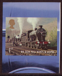 GREAT-BRITAIN-2012-CLASSIC-LOCOMOTIVES-OF-SCOTLAND-SELF-AD-UNMOUNTED-MINT-MNH