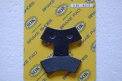 Xplorer 380 2000 01 Rear Brake Pads For Polaris Xplorer 250 4X4 2000 01 02 03