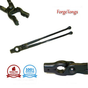 """Forge tongs 1//8/"""" v bit Duck Bill Jaw blacksmith forge anvil  tools metal"""