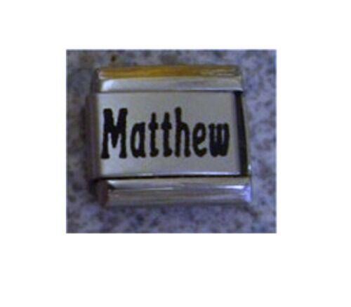 Italian Charms Names Matthew Names