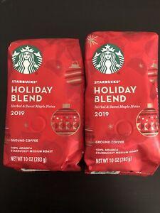 Starbucks Holiday Blend Medium Roast Ground Coffee, 10 ...