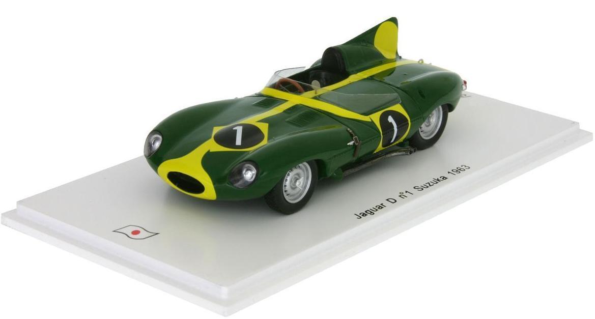 Jaguar D-Type F.Francis  8th Suzuka GP  1963 (Spark 1 43   SJ017)