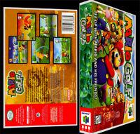 Mario Golf - N64 Reproduction Art Case/box No Game.