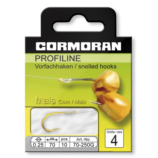 Cormoran PROFILINE Maishaken gold Gr.8 0,20mm