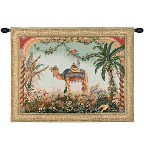 The Camel French Tapestry Wall Hanging