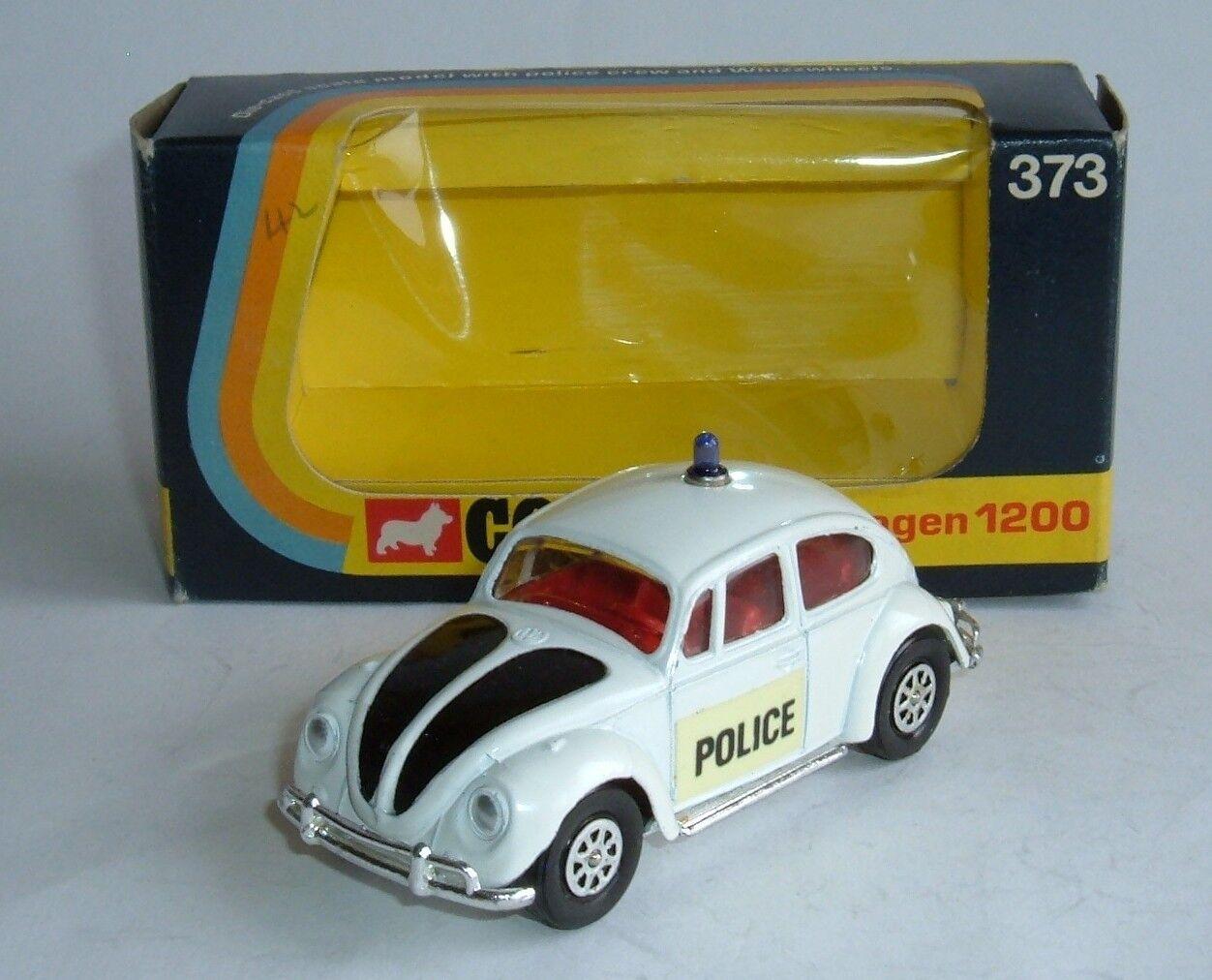 CORGI TOYS no 373, VOLKSWAGEN 1200 voiture de police, - SUPERBE int.