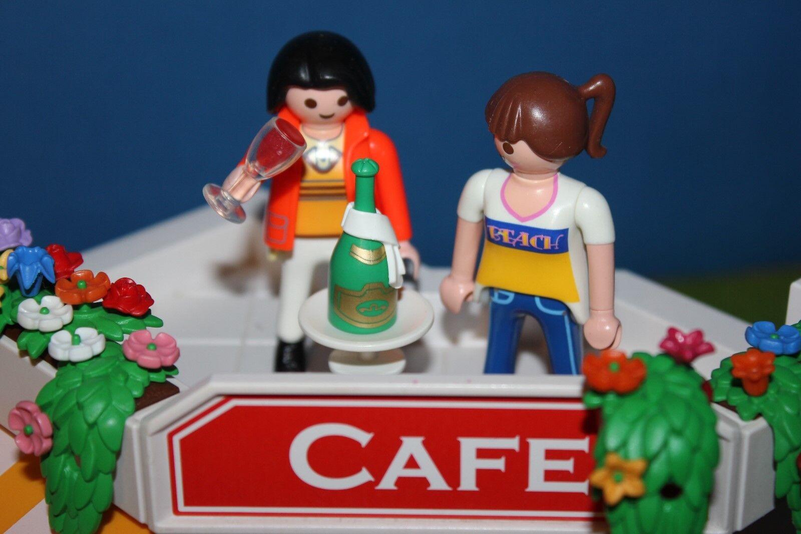 Playmobil Citywelt Citywelt Citywelt Set Personaggi 110   Cafe   b2dfc4